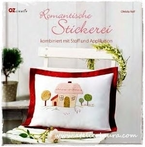 Boek Romantishe Stickerei