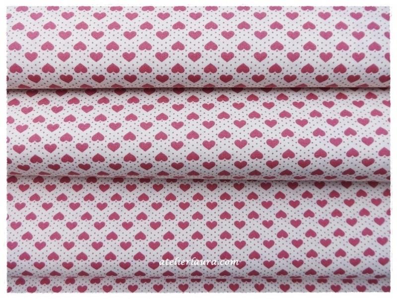 Stofje Vintage Roze Hartje A