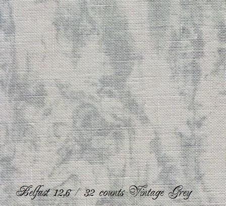 Zweigart Belfast Vintage Grey