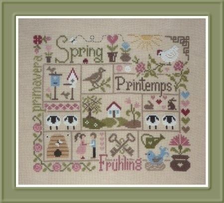 Jardin Privé - Sampler Printemps