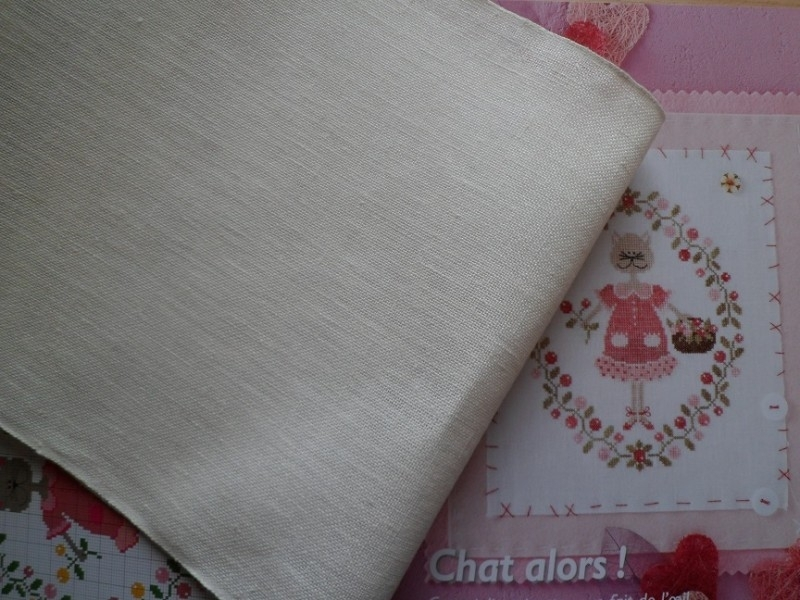 Borduurband Off-White 24 cm