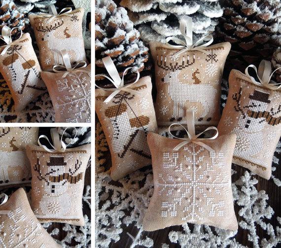 The little stitcher - White Christmas