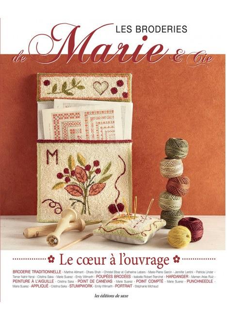 Les Broderies Marie & Cie - Le Coeur à L'ouvrage