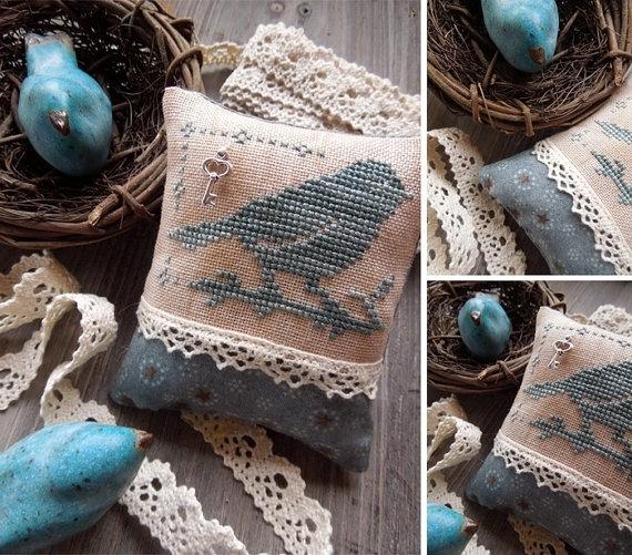 The Little Stitcher Little Bluebird