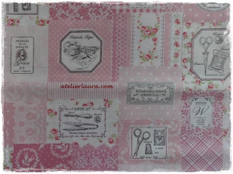 Stofje Vintage Sewing Rose