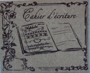 CherieM Cahier d`Ecriture
