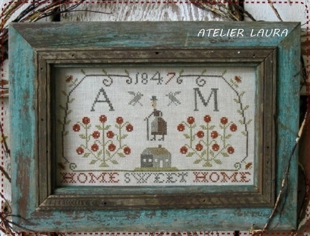 Pineberry Lane Home Sweet Home Sampler