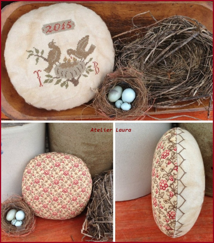 Scattered Seed Sampler - Pinkeep Nest