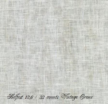 Zweigart Belfast Vintage Creme 1079