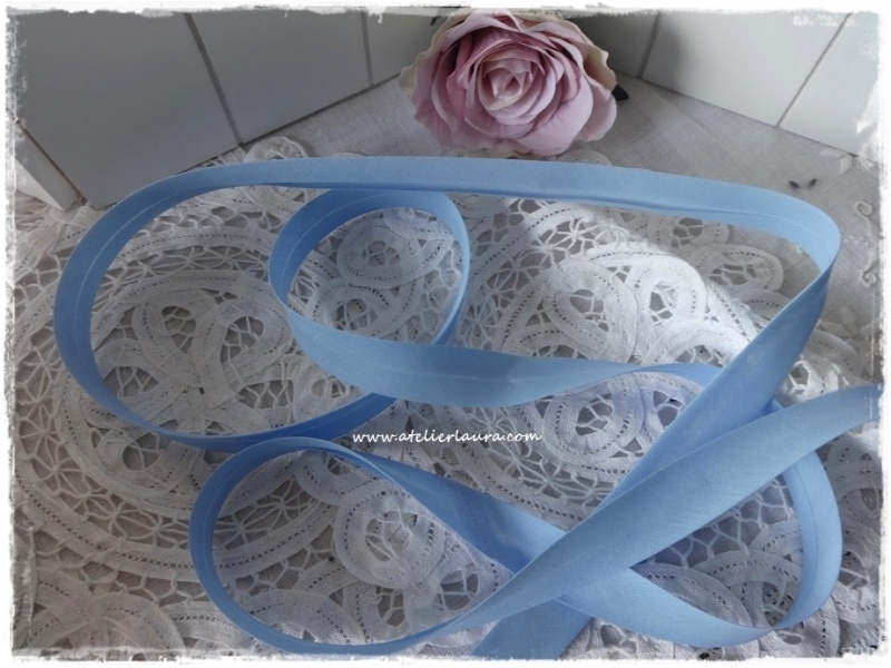 Baisbandje blauw col 1008
