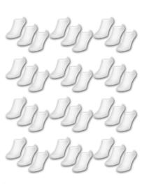 Naadloze sneaker sokken dames 8 pak €5,95