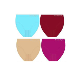 Sweet Angel Microfiber Taille Slips B  Large 4 Pack 10,95