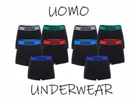 Microfiber Boxershort Uomo Color band 4 voor €10,-