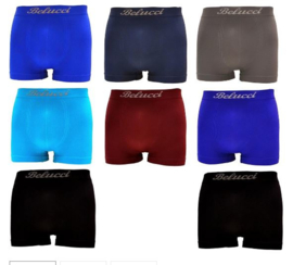 Microfiber Boxershorts Belucci clasic  M/L 8 Pack €19,95,-