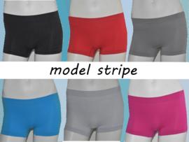 Microfiber Boxershorts Dames Stripe 4 voor €10,-