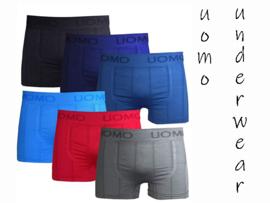 Microfiber Boxershorts  Uomo stripe 4 voor €10,-