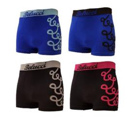 Microfiber Boxershorts Belucci Print M/L 4 Pack €12,95,-