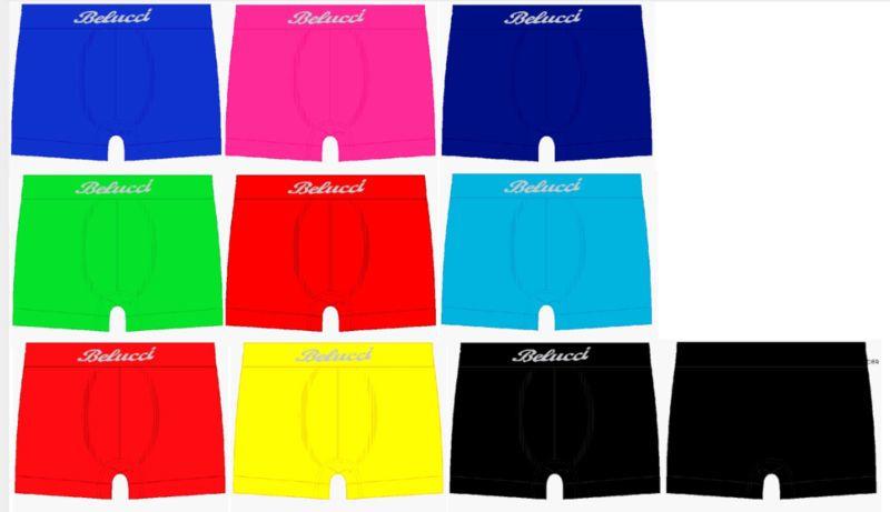 Microfiber Boxershorts Belucci Trendy 4 voor €10,-