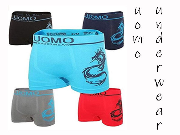 Microfiber Boxer shorts Uomo Dragon 4 stuks €10,-