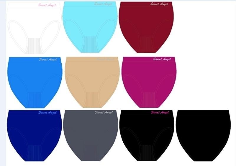 Microfiber Taille Slips 5 voor €10,-