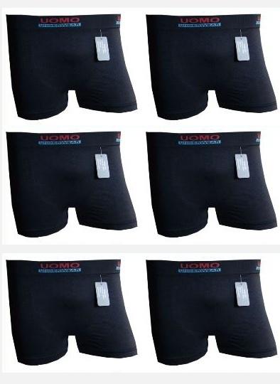 Microfiber Boxershorts Uomo Black Edition 4 voor €10,-