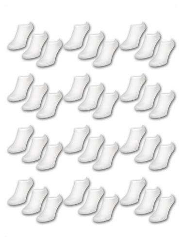 Naadloze sneaker sokken heren 4 pak €3,95