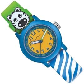 Esprit Zebra Kinderhorloge Cutie Face Blue