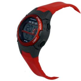 Coolwatch Digitaal Jongenshorloge Skills 10ATM Zwart/Rood