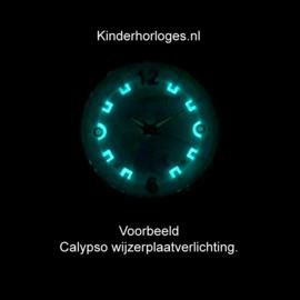 Calypso Eenhoorn Horloge Wijzerplaatverlichting 32mm Wit