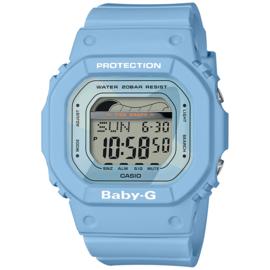 Casio Baby-G Getijden en Regatta Timer Blauw - 3 Alarmen