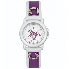 Certus Meisjes Horloge Pony 26mm Paars