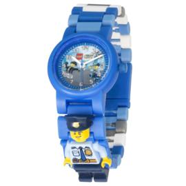 LEGO City Speciale Politie Schakel-Minifiguur Kinderhorloge