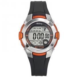 Tekday Digitaal Sporthorloge Stopwatch Alarm 100m Oranje