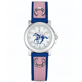 Certus Meisjes Horloge Pony 26mm Blauw