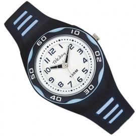 Tekday Horloge met Cijferverlichting 100m Blauw