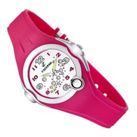Calypso Bubbels Horloge Wijzerplaatverlichting 32mm Roze
