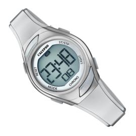 Calypso Digitaal Kinderhorloge Alarm Chrono 10ATM 29mm Zilver