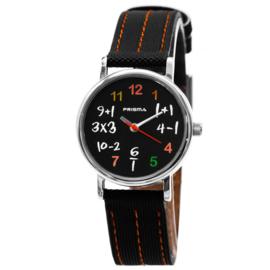 Prisma Levi 'Smartwatch' RVS met Extra Bandje Zwart