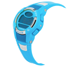 Coolwatch Digitaal Jongenshorloge Hiker Lightblue