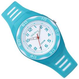 Tekday Horloge met Cijferverlichting 100m Azuur