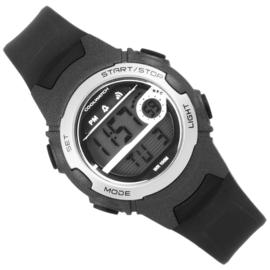 Coolwatch Digitaal Jongenshorloge Skills 10ATM Zwart/Grijs