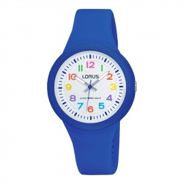 Lorus Happy Numbers Kinderhorloge 100m Blauw