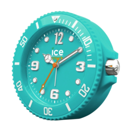 Ice-Watch Wekker Ice-Clock Turquoise 14 cm - Geruisloos