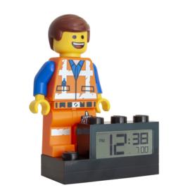 LEGO Movie Wekker Emmet 15cm