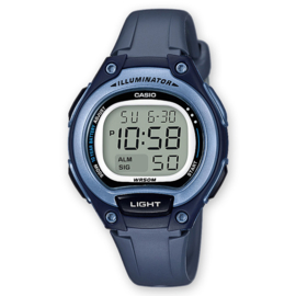 Casio Digitaal Kinderhorloge Alarm Blauw 34mm