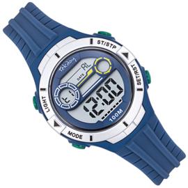 Tekday Stopwatch Kinderhorloge Alarm 100m Blauw