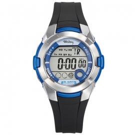Tekday Digitaal Sporthorloge Stopwatch Alarm 100m Blauw