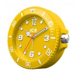 Ice-Watch Wekker Ice-Clock Geel 14 cm - Geruisloos