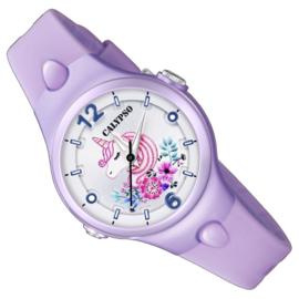 Calypso Eenhoorn Horloge Wijzerplaatverlichting 32mm Lila II