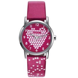 Esprit Meisjeshorloge Heart Pink